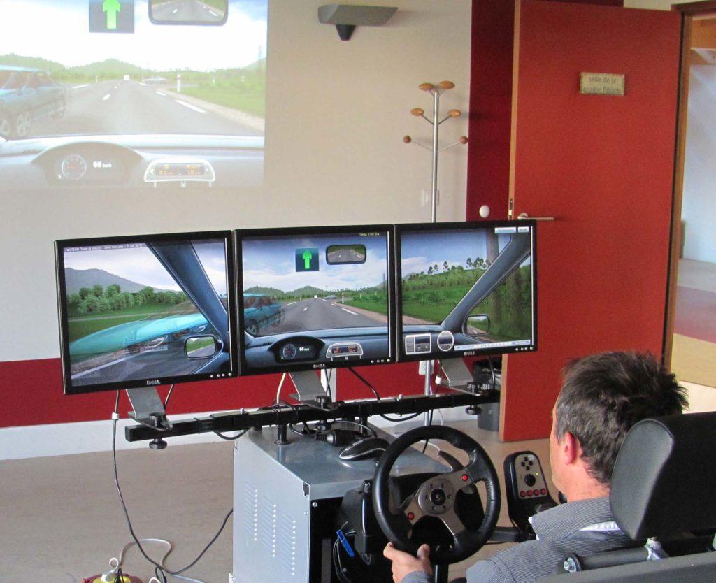 formation profesionnelle simulateur conduite